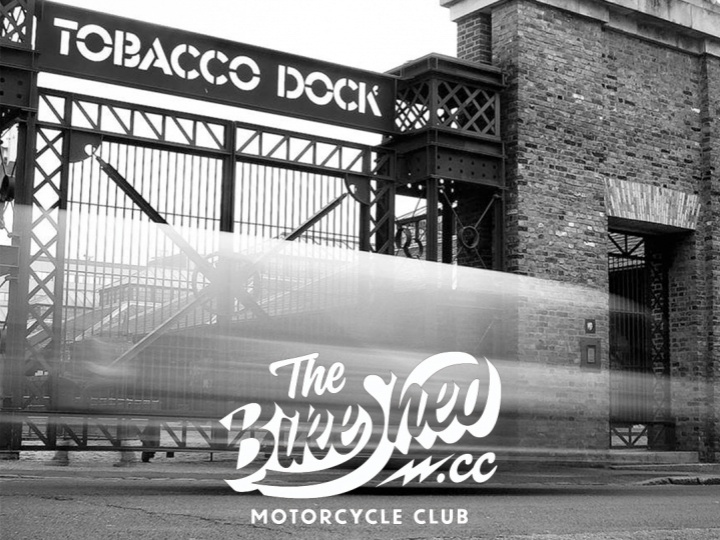 The Bike Shed Event at Tobacco Dock